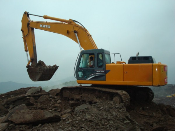 广州市加藤60 6T挖掘机出租